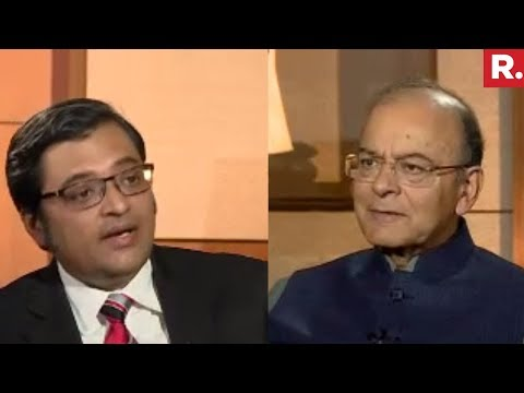 FM Arun Jaitley Speaks To Arnab Goswami After Budget 2018 | Exclusive