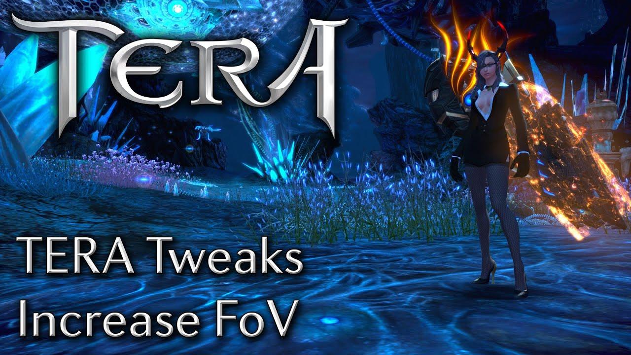 TERA Tweaks | How to Increase FoV (Field of View) #makingTERAplayable