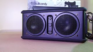 Skullcandy Air Raid Bluetooth Speaker Review