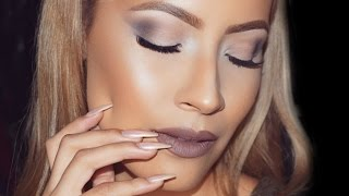 Urban Decay Smoky Palette Makeup Look - Desi Perkins