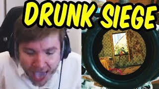 DRUNKEST I'VE EVER BEEN - Rainbow Six Siege Drinking Game Part 3 thumbnail