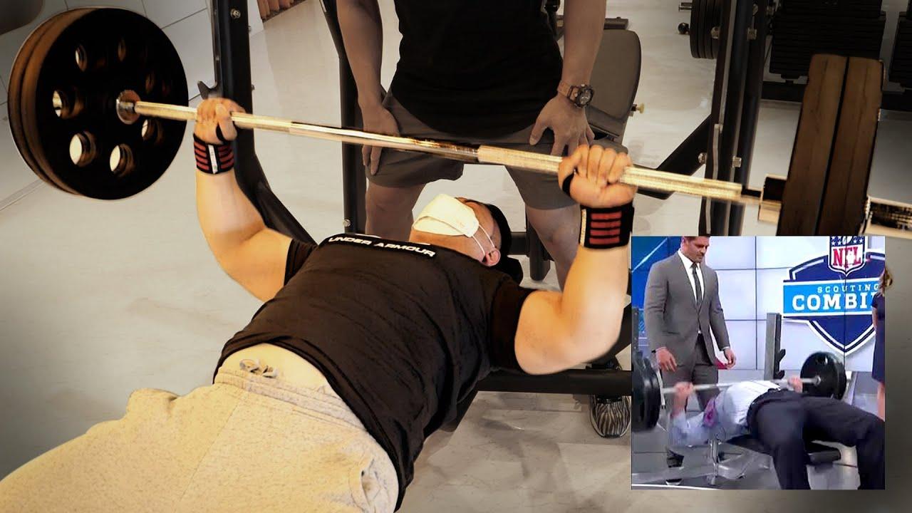 일반인이 벤치프레스 100kg 1분에 최대 몇 개 가능할까?