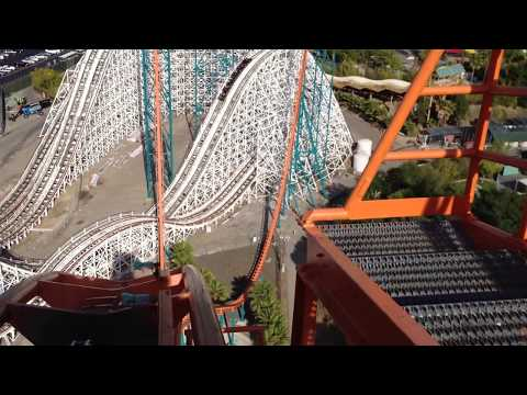 HD FPV Rollercoaster ride (Take a virtual ride!) Point of view video project