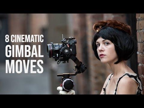 8 Cinematic Gimbal Moves using the Tilta Gravity G2