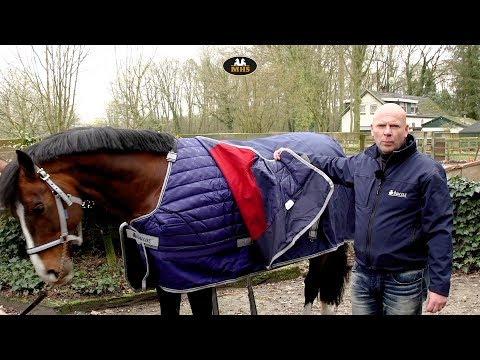 Bucas | Buzz-Off riding rug - YouTube