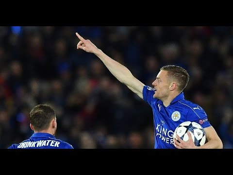 Leicester City vs Atlético Madrid 1-1 | Highlights & Goals | UEFA Champions League | 18 April 2017