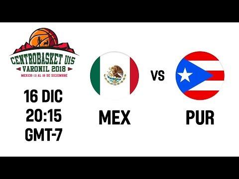 Mexico V Puerto Rico - Full Game - Centrobasket U15 Championship 2018
