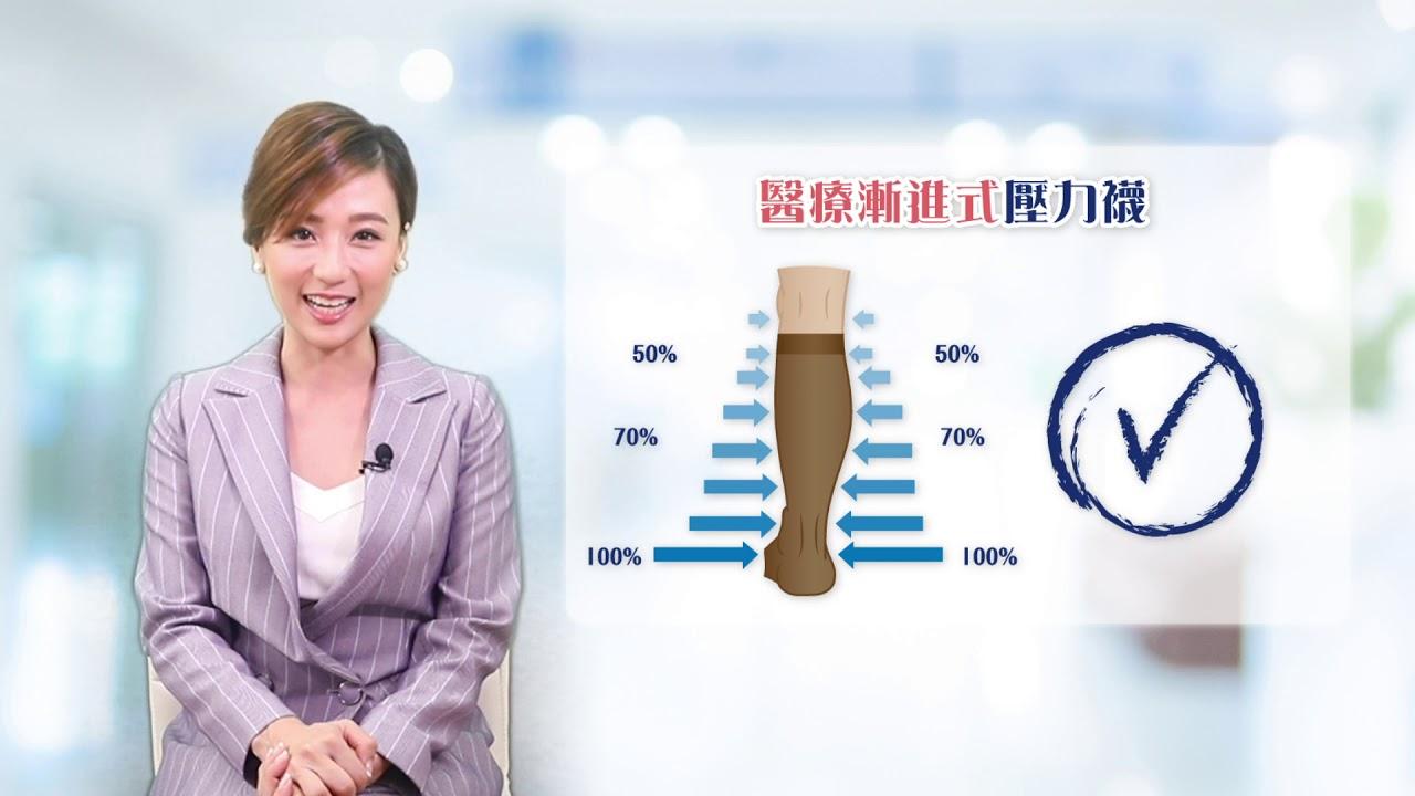 [每週醫字] 壓力襪, 醫療式壓力襪