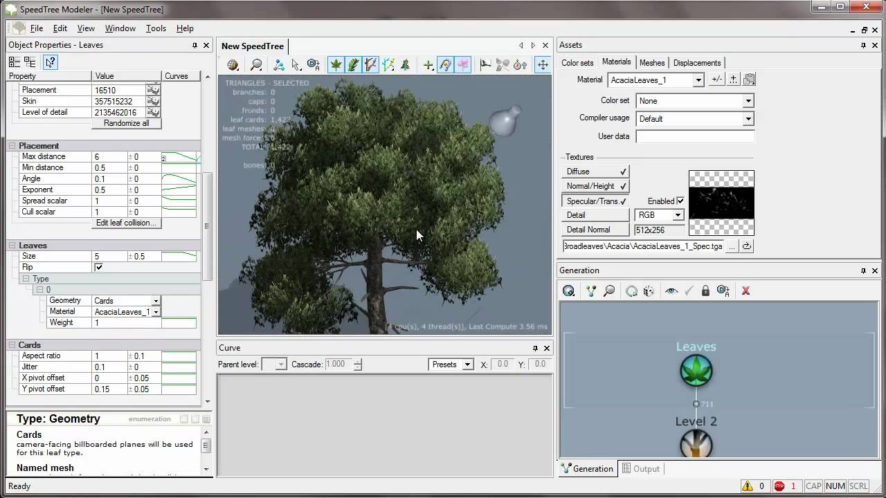 Speedtree and 3dsmax Basic Tutorial [HD]
