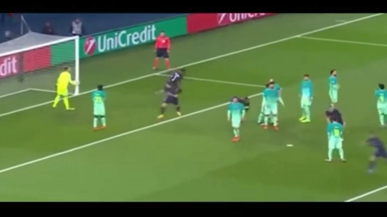 PSG vs Barcelona 4-0 All Goals & Highlights - Champions ...