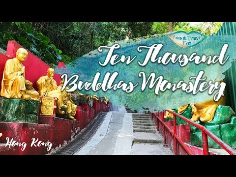 A visit to the Ten Thousand Buddhas Monastery in Hong Kong