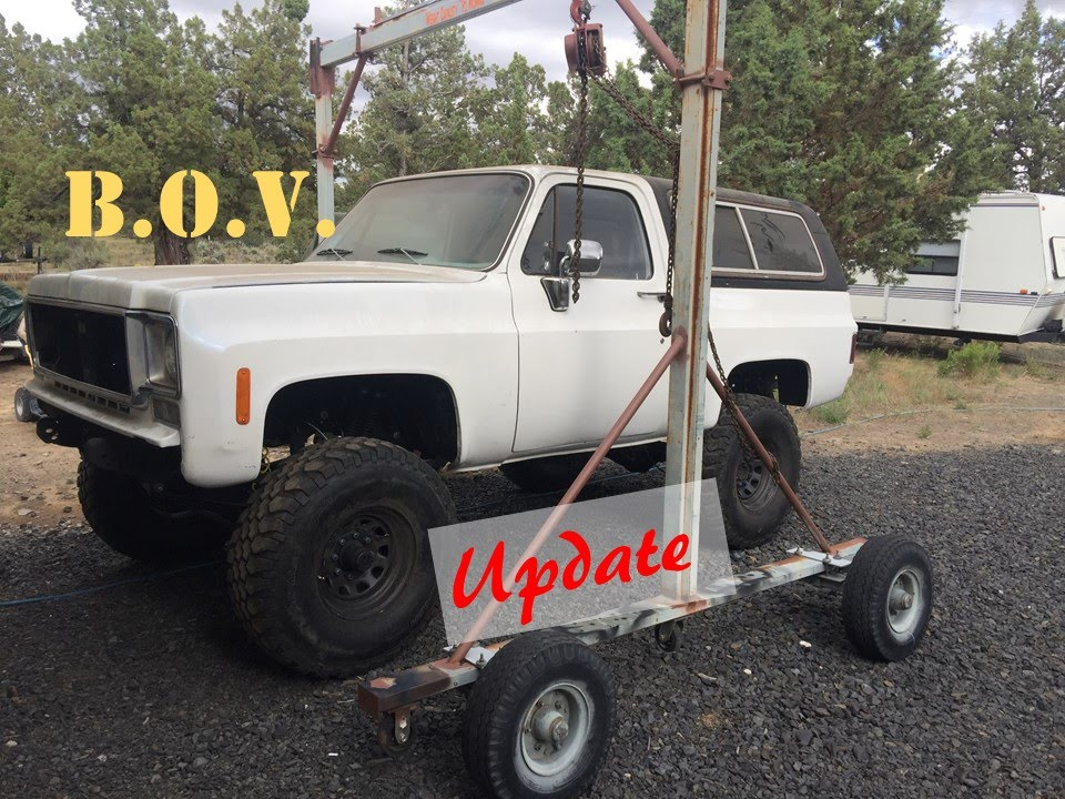 Build A Survival Vehicle : Bug out vehicle k blazer build ep update youtube
