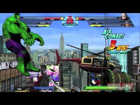 Marvel vs. Capcom 3 Gameplay Video #5