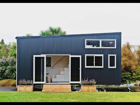 Amazing Tiny House Has Removable Trailer
