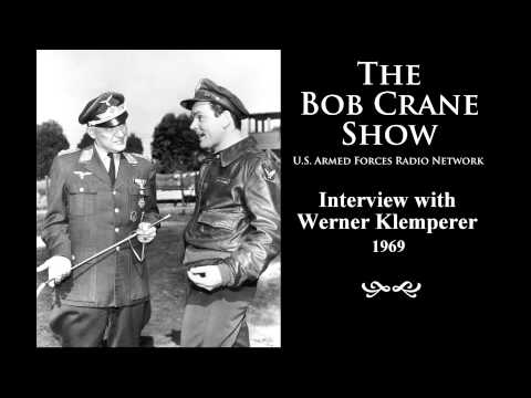 The Bob Crane   U.S. Armed Forces Radio Network ~  with Werner Klemperer 1969