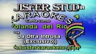 Yolanda del Rio  -  La Otra Intrusa -  Karaoke demo