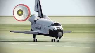 | F-Sim space shuttle crash landing - Ipad Gameplay |