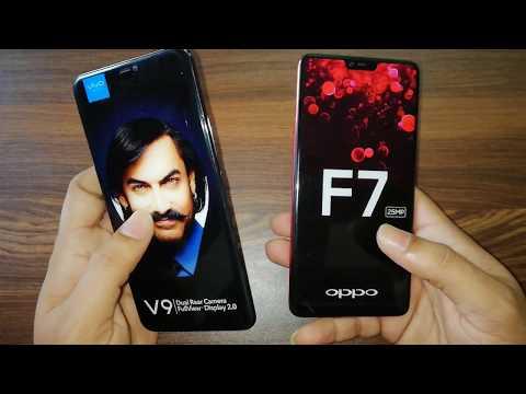 Oppo F7 Vs Vivo V9 (Dummy Phone): looks,specification n price