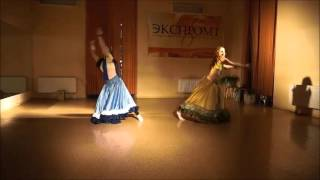 Julia Ovchinnikova creative studio - Nagada Sang Dhol Dance [Cover + Original Choreo]