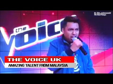 THE VOICE UK AMAZING TALENT FROM MALAYSIA