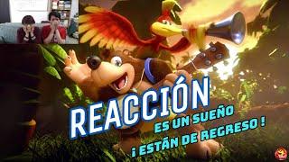 Reacción a Héroes de Dragon Quest y Banjo-Kazooie en Super Smash Bros Ultimate!!
