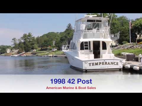 1998 42 Post Marine