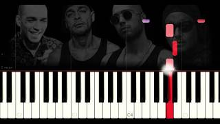 Fight Kulüp - Gluk Gluk Gluk - Very EASY - PIANO TUTORIAL by VN
