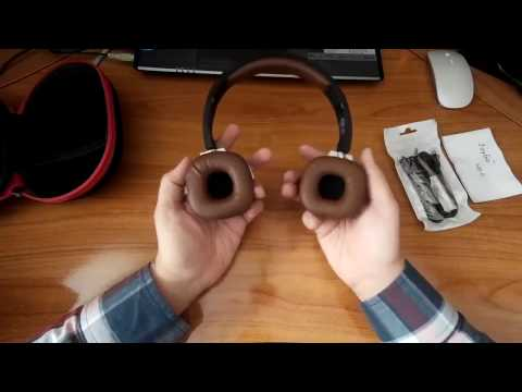 Recensione Cuffie Wireless pieghevole, Goliton-Cuffie Stereo con microfono incorporato Bluetooth