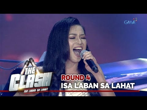 The Clash 2019: Jeniffer Maravilla's HIGH PITCHED rendition of Ex B's