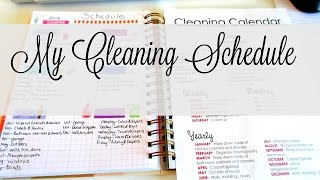 This video is about our cleaning schedule/routine. What do you guys...