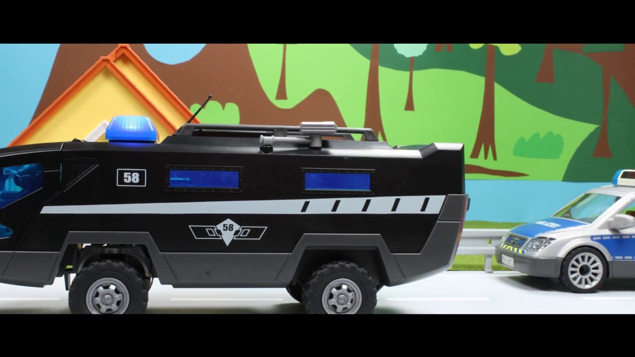 Einbruch im Museum Playmobil Film deutsch SEK Einsatz stop motion Polizei Gefängnis Kinderfilm