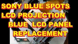 Sony LCD TV Blue Dots Blue Fog Blue Stars Repair KDF 42 50 55 60 WE WF XS XBR 655 955 950 610 620