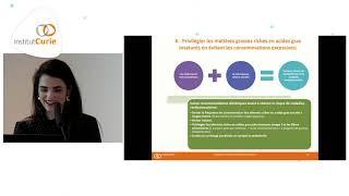 Traitement anti hormonal et nutrition - Carole Kalogeropoulos