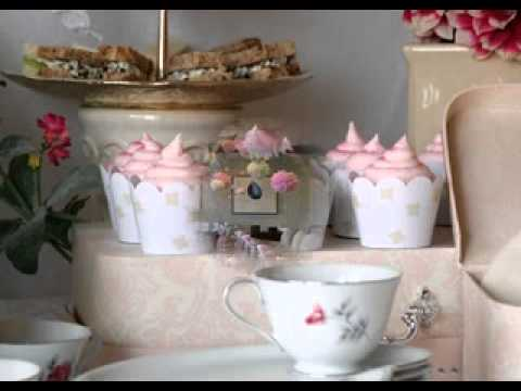 Diy Tea Party Baby Shower Decorating Ideas Youtube