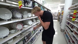 Logan Paul Breaking Plates Compilation