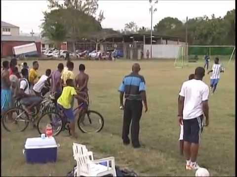 Barbados Soccer Academy versus Benfica