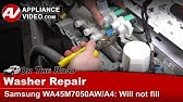 Washing Machine Won't Stop Filling with Water: Washer Repair ... on