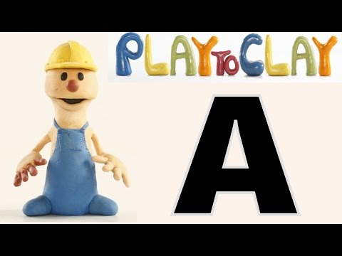 Learning A | PLAY To CLAY with JAMES | Muffin Songs Kindergarten