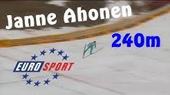 Janne Ahonen 240m - Planica 2005 [Deutsch/German] Eurosport