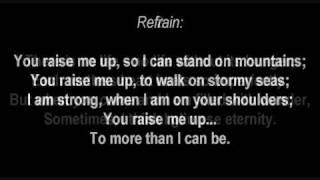 You Raised Me Up - Accompaniment