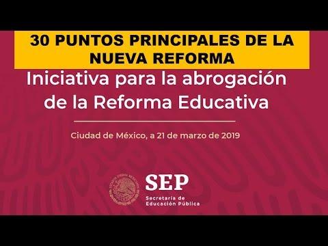 INICIATIVA PARA LA ABROGACIÓN DE LA REFORMA EDUCATIVA