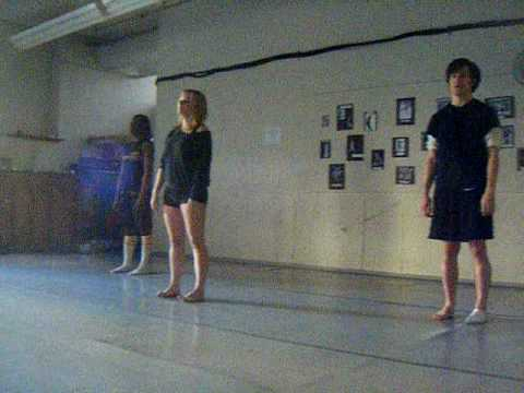 silence. (marinda*davis choreography.)