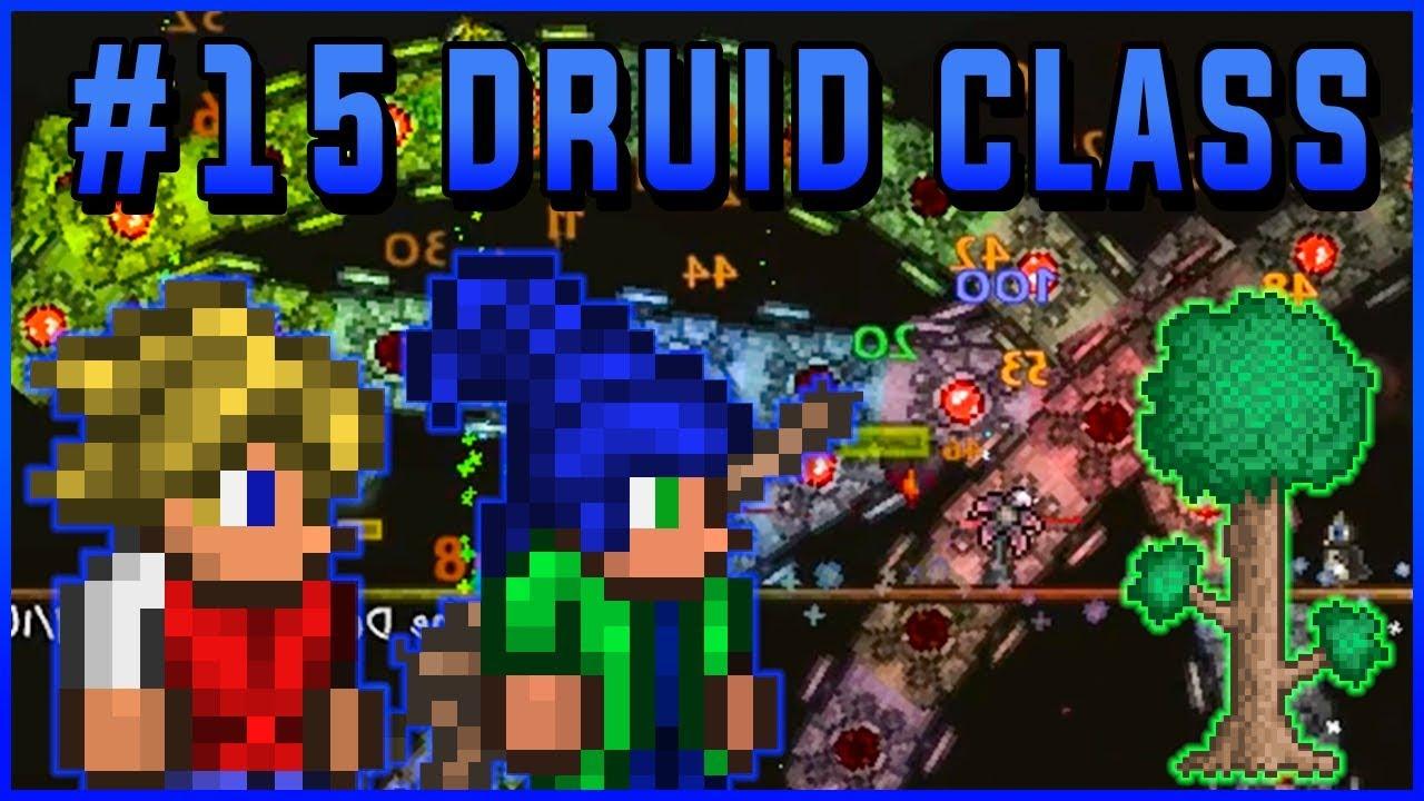 MECHANICZNI W JEDNĄ NOC - Terraria: Druid Class #15 (z Ryfkiem)