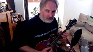 Fred Finn's (reel) on mandolin