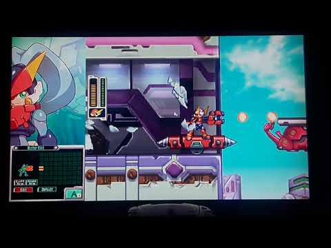 Megaman Zero Zx Legacy Collection: Quick kill and Model F is busted |