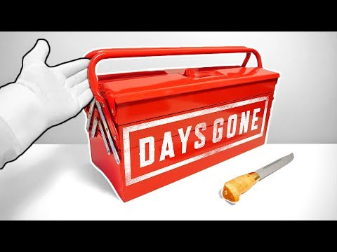 """Unboxing DAYS GONE """"Toolbox Edition"""" (Ultra Rare Limited Edition) PS4 Collector's Press Kit"""