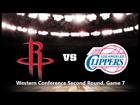 Rockets at Clippers: Western Conference Playoffs (Second round, game 7)