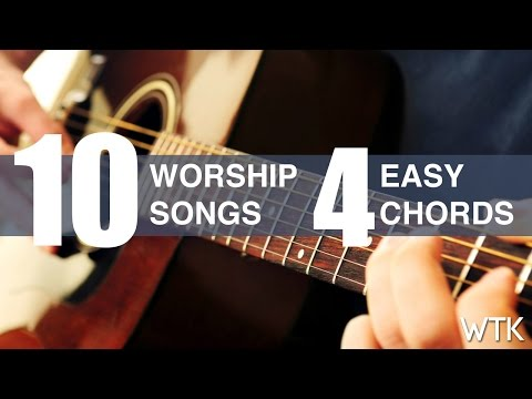 learn-10-worship-song-with-4-easy-guitar-chords
