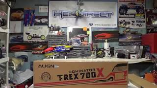 Align T-rex Dominator X unboxing review