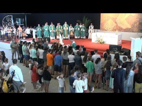 Replay Paray Messe d'envoi du 7 août 2016